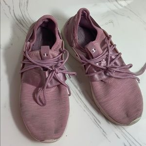 Pink champion shoes